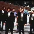 Reservoir Dogs : Bild Chris Penn, Edward Bunker, Harvey Keitel, Michael Madsen, Steve Buscemi