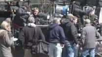 The Avengers 2: Age Of Ultron: Set-Video Captain America (3)