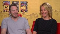 "Interview zu ""The LEGO Movie"" mit Chris Pratt, Elizabeth Banks und Will Ferrell"