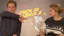 """mediatelsupport.com-Interview zu """"Fack Ju Göhte 2"""" mit Elyas M'Barek, Karoline Herfurth, Katja Riemann, Volker Bruch, Max von der Groeben und Jella Haase (FS-Video)"""