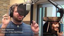 """Brian Hull singt """"Let It Go"""" - mit den Stimmen von mehr als 20 Disney-Figuren"""