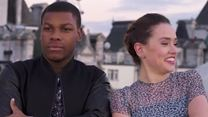 """Daisy Ridley And John Boyega Rap About Their Experience During """"The Force Awakens"""""""