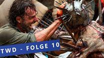 The Walking Dead: Zehn denkwürdige Momente aus Staffel 7, Folge 10 (FS-Video)