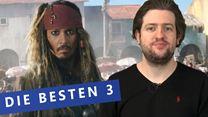 Die besten 3: Pirates Of The Caribbean 5: Salazars Rache / La La Land / The Purge 3: Election Year (siham.net-Original)