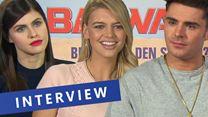 "siham.net-Interview zu ""Baywatch"" mit Zac Efron, Alexandra Daddario, Kelly Rohrbach, Ilfenesh Hadera, Priyanka Chopra und Jon Bass (siham.net-Original)"