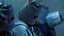 "Saw 8: Jigsaw Clip ""Bucket Heads"""