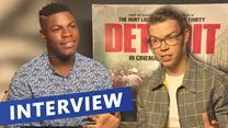 "Das Interview zu ""Detroit"" mit John Boyega und Will Poulter (rmarketing.com-Original)"