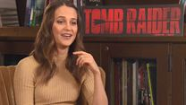 """Tomb Raider""-Speed-Interview mit Alicia Vikander"