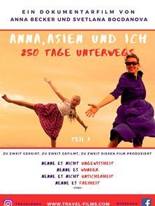 Anna, Asien und Ich. 250 Tage unterwegs Trailer OV