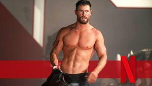 """Für Hulk-Hogan-Film auf Netflix: Chris Hemsworth mit noch mehr Muskeln als Thor im """"Avengers""""-Universum"""