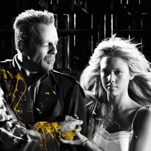 Sin City : Bild Bruce Willis, Jessica Alba