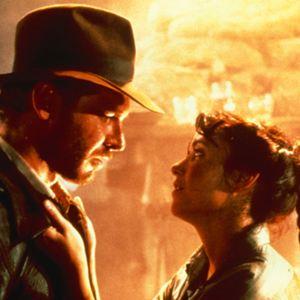 Jäger des verlorenen Schatzes : Bild Harrison Ford, Karen Allen