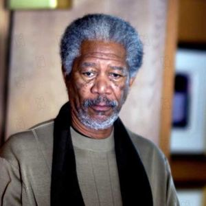 Bild David Burke (II), Morgan Freeman