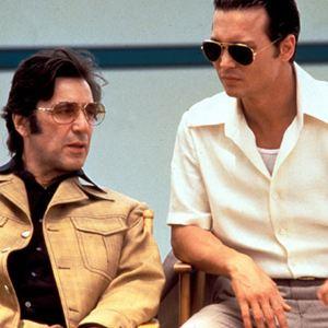 Donnie Brasco : Bild Al Pacino, Johnny Depp