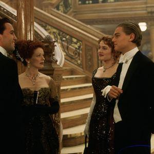 Titanic : Bild Billy Zane, Frances Fisher, Kate Winslet, Leonardo DiCaprio