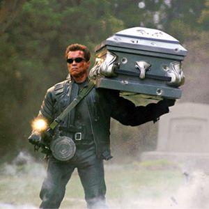 Terminator 3 - Rebellion der Maschinen : Bild Arnold Schwarzenegger, Jonathan Mostow