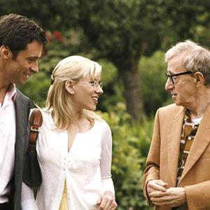 Scoop - Der Knüller : Bild Hugh Jackman, Scarlett Johansson, Woody Allen