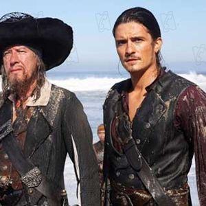 Pirates Of The Caribbean - Am Ende der Welt : Bild Geoffrey Rush, Orlando Bloom