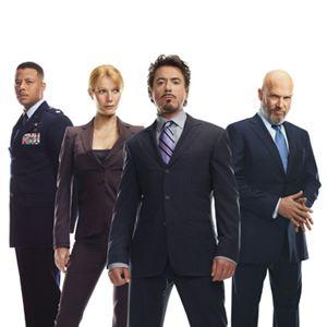 Iron Man : Bild Gwyneth Paltrow, Jeff Bridges, Robert Downey Jr., Terrence Howard
