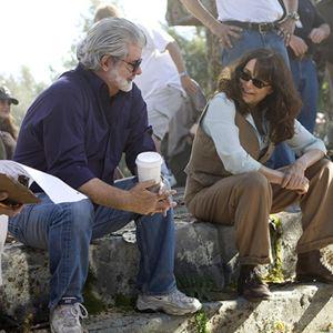Indiana Jones und das Königreich des Kristallschädels : Bild George Lucas, Karen Allen