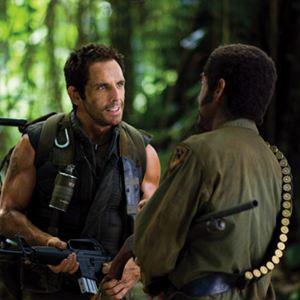Tropic Thunder : Bild Ben Stiller, Robert Downey Jr.
