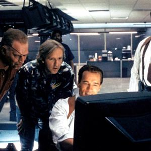 True Lies : Bild Arnold Schwarzenegger, James Cameron