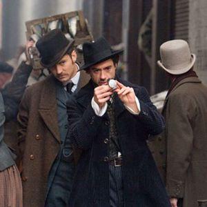Sherlock Holmes : Bild Jude Law, Robert Downey Jr.