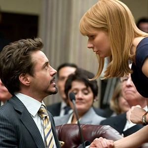 Iron Man 2 : Bild Gwyneth Paltrow, Robert Downey Jr.