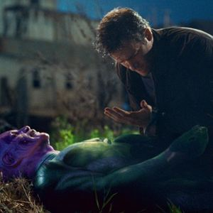 Green Lantern : Bild Ryan Reynolds, Temuera Morrison
