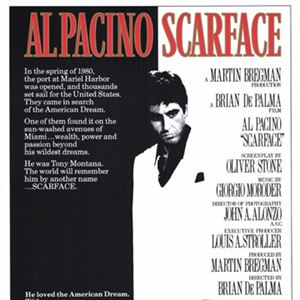 Scarface : Kinoposter
