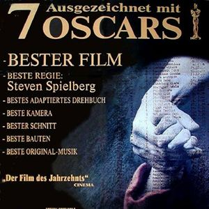 Schindlers Liste : Kinoposter