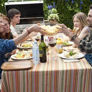 The Kids Are All Right : Bild Annette Bening, Josh Hutcherson, Julianne Moore, Lisa Cholodenko, Mark Ruffalo