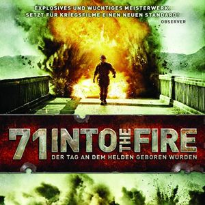 71 into the fire poster