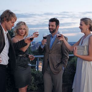 Midnight In Paris : Bild Michael Sheen, Nina Arianda, Owen Wilson, Rachel McAdams, Woody Allen