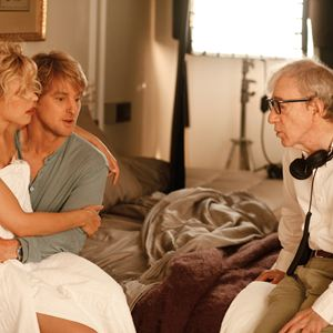 Midnight In Paris : Bild Owen Wilson, Rachel McAdams, Woody Allen