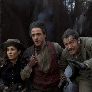 Sherlock Holmes 2: Spiel im Schatten : Bild Jude Law, Noomi Rapace, Robert Downey Jr.
