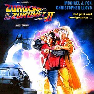 Zurück in die Zukunft II : Kinoposter