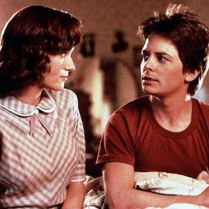 Zurück in die Zukunft : Bild Lea Thompson, Michael J. Fox