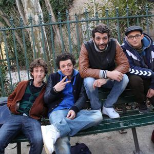 Bild Gaël Cottat, Kev Adams, Ramzy Bedia, William Lebghil
