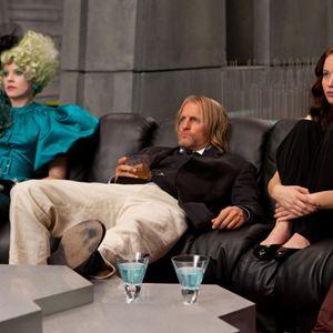 Die Tribute von Panem - Tödliche Spiele : Bild Elizabeth Banks, Jennifer Lawrence, Woody Harrelson