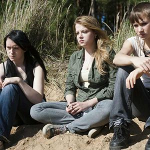 Kriegerin : Bild Alina Levshin, Jella Haase, Winnie Böwe