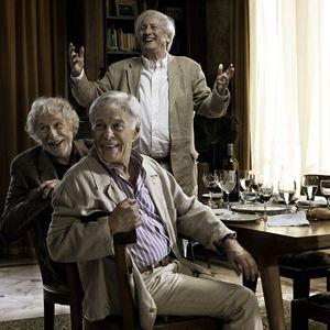Und wenn wir alle zusammenziehen? : Bild Claude Rich, Guy Bedos, Pierre Richard, Stéphane Robelin