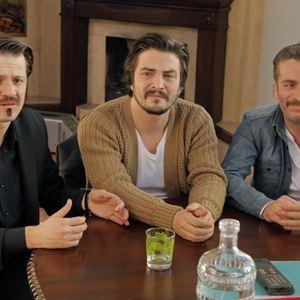 Bild Ahmet Kural, Murat Cemcir, Sadi Celil Cengiz