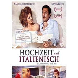 hochzeit auf italienisch film 1964. Black Bedroom Furniture Sets. Home Design Ideas