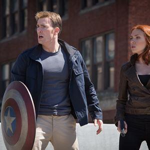 Captain America 2: The Return Of The First Avenger : Bild Chris Evans, Scarlett Johansson