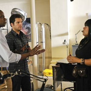 Bild Dule Hill, James Roday, Yvette Nicole Brown