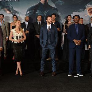 Captain America 2: The Return Of The First Avenger : Vignette (magazine) Anthony Mackie, Callan Mulvey, Chris Evans, Cobie Smulders, Emily VanCamp