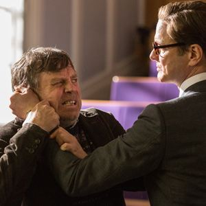 Kingsman: The Secret Service : Bild Colin Firth, Mark Hamill