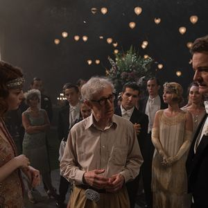 Magic in the Moonlight : Bild Colin Firth, Emma Stone, Woody Allen