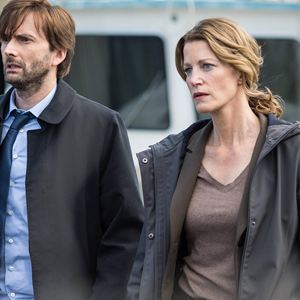 Bild Anna Gunn, David Tennant